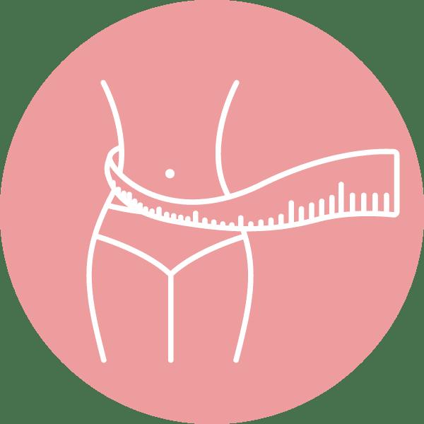 Pictogramme perte de poids