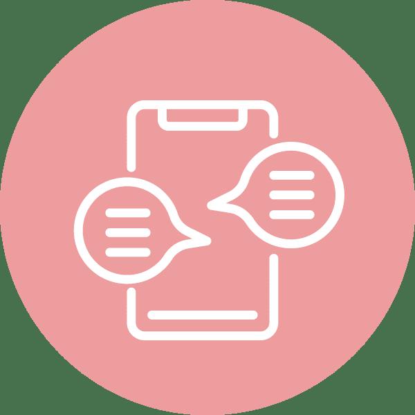 pictogramme conversation