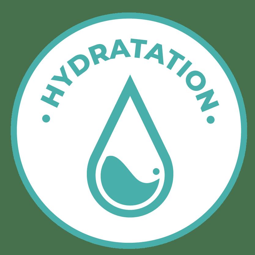 émoticône hydratation