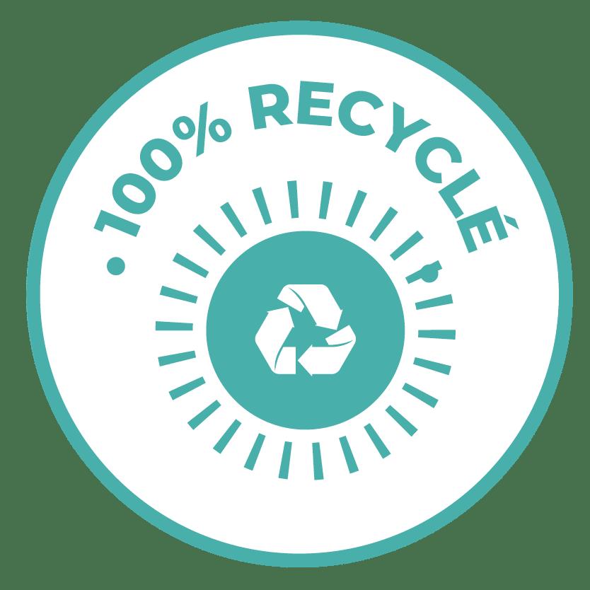 emoticon 100% recyclé