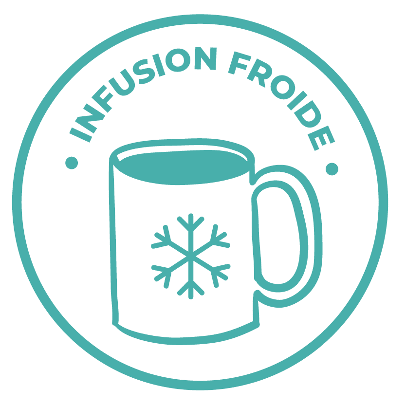 émoticône infusion froide
