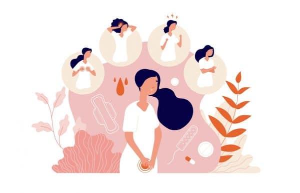 Syndrome post menstruel